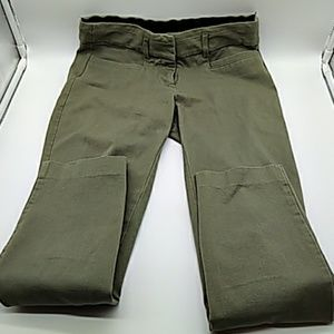 Candie's womens Audrey Ankle green pants size 1